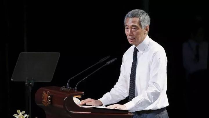 新加坡总理李显龙讲中美关系